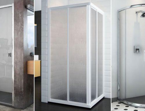 ¿Qué tipos de mamparas de ducha existen?